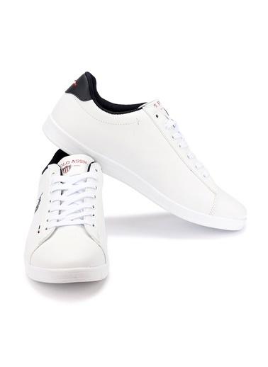 U.S. Polo Assn. U.S. Polo Assn. Franco DHM Büyük Numara Erkek Spor Ayakkabı Beyaz